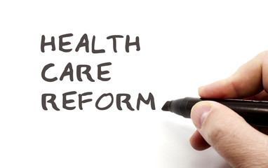 Writing Health Care Reform