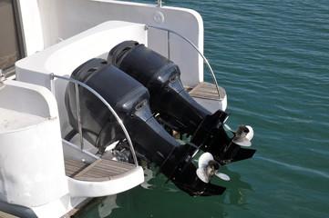 Speedboat motor