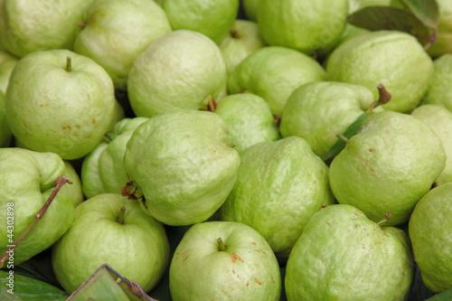 Fresh guavas texture