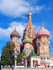 Saint Basil Cathedral at the Red Square