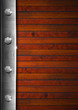 Vintage Wooden and Metal Background