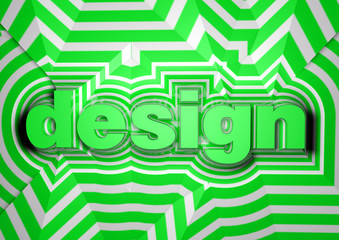 Design abstract text background