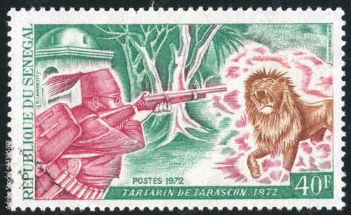 Tartarin Shooting the Lion