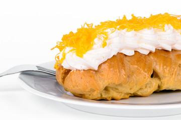Cream cake.