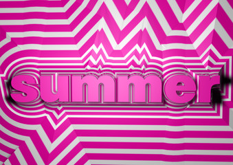 summer abstract text background