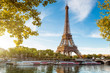 canvas print picture - Tour Eiffel Paris France