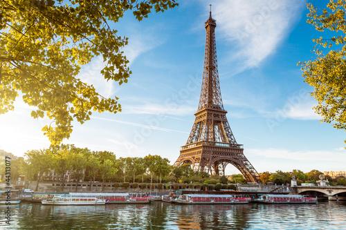 Poster Tour Eiffel Paris France