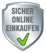 Schild sicher online einkaufen