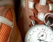 Schnell laufende Uhrzeit - timelapse