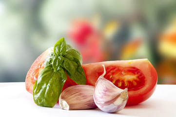 ingradients for italian cooking