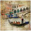 pictorial  Venice,artistic picture