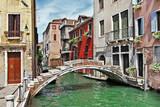 Fototapety pictorial Venetian streets