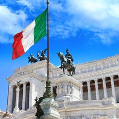 Piazza Venezia Rome, Italy. Capitoline