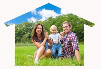 Traumhaus Familie
