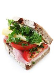 Wholesome Ham Sandwich