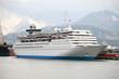 large white passengers cruise ship