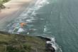 Parapente plage de Kervel , Finistère