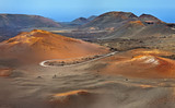 Mountains of fire, Timanfaya National Park in Lanzarote