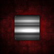 Grunge metal plate background