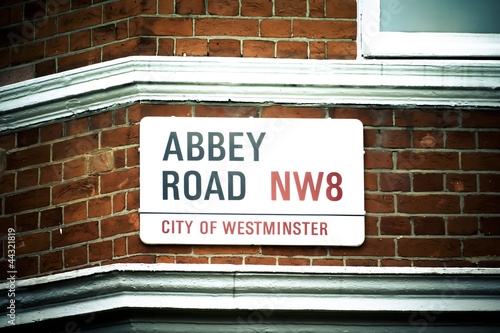 Poster Come Together at Abbey Road