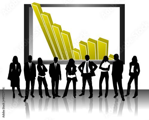 Umsatz Karriere Anstieg
