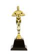 Leinwanddruck Bild - gold trophy