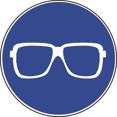 panneau port de lunettes
