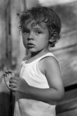 Petit garçon de 3 ans