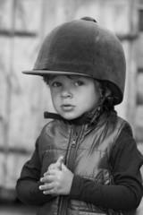 Petit cavalier de trois ans