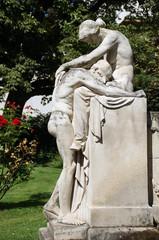 Schicksalsbrunnen Stuttgart - Trauer