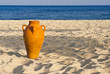Amphora on the sand