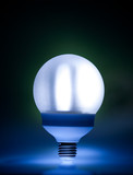Bright energy saving fluorescent light bulb