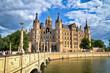 canvas print picture - Schloß von Schwerin - Castle in Schwerin