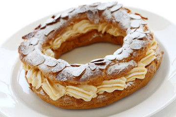 paris brest, french dessert