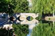 Picturesque Landscape, Stone Bridge, River and Willow, Solin, Cr