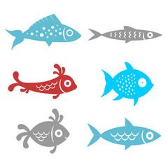 fish - funny set