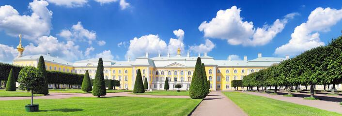 Upper Park in Pertergof, Saint-Petersburg city ,  Russia