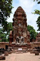 Ruin temple in Thailand