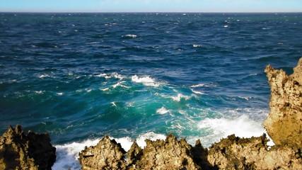 Sharp rocky cliff 2 loop