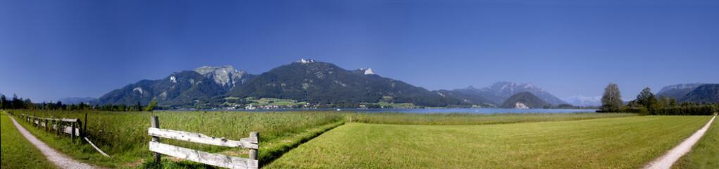 180° Panorama Wolfgangsee