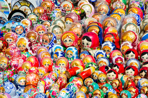 Matryoshka dolls for sale.