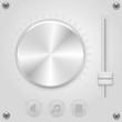 Vector mixer volume control