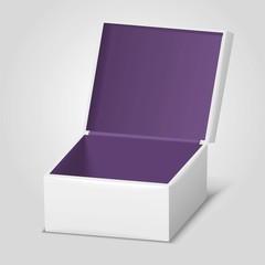 empty opened gift box
