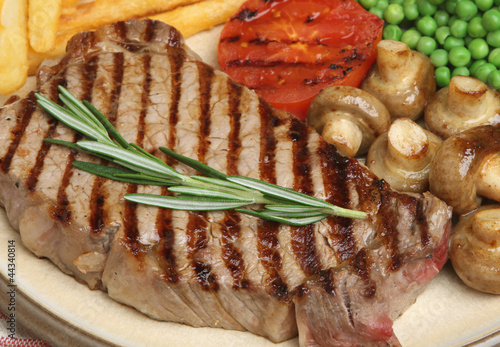 Sirloin Beef Steak Meal