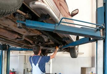 Car service inside