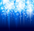 Abstract Glow of Lights background with blue colo