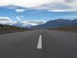 Carretera del Chalten. Argentina