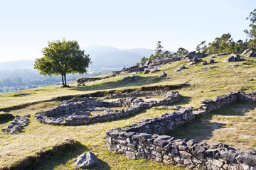 Castrolandin, celtic ruins