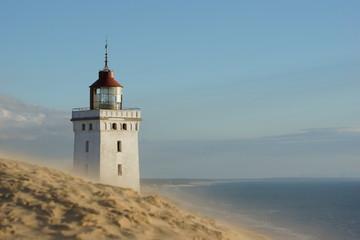 Leuchtturm Rubjerg Knude, wehender Sand