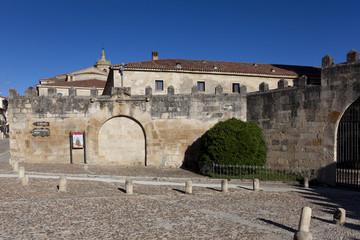 Walls, Santo Domingo de Silos, Burgos, Castilla y Leon, Spain